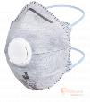 8626 Одноразовая полумаска, чашеобразного типа с клапаном выдоха и фильтром из активированного угля бренда Jeta Safety. Фото №1