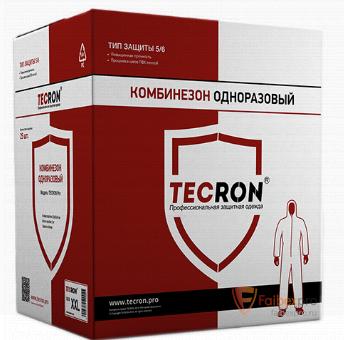 Комбинезон защитный одноразовый Tecron бренда Tecron. Фото №2