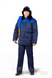 Куртка мужская  утепленная Уралец бренда Без бренда. Фото №1