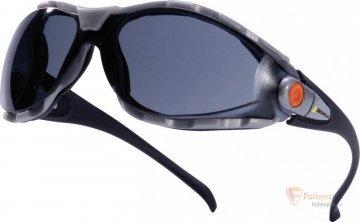 Очки защитные дымчатые PACAYA SMOKE бренда Delta Plus. Фото №1