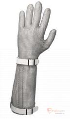 Кольчужная защитная перчатка, манжет 22 см бренда Без бренда. Фото №1
