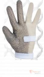Перчатка защитная кольчужная трехпалая бренда Без бренда. Фото №1