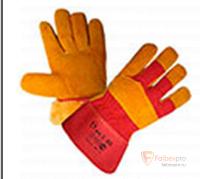 Перчатки «русские львы» усиленные, зима бренда Без бренда. Фото №1