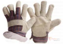 Перчатки «Тайга» спилковые утепленные бренда Без бренда. Фото №1