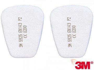 Предфильтр противопыльный 3M 5925   (FFP2) бренда 3M. Фото №1
