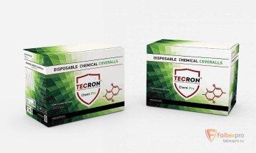 Комбинезон химической защиты TECRON Chemi Pro. бренда Tecron. Фото №2