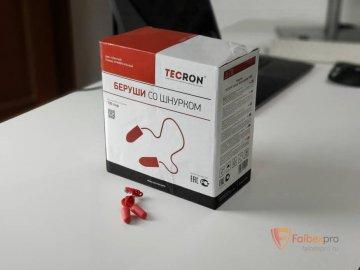 Беруши Tecron Classic form corder 37dB (со шнурком) бренда Без бренда. Фото №6