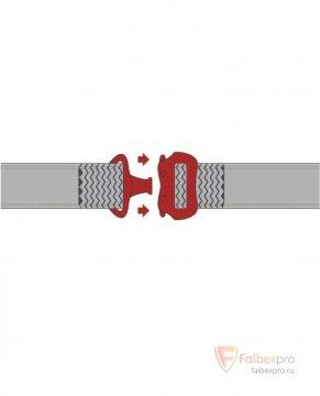 JAGUAR HAR36TCP привязь с поясом и ножными обхватами — 6 точек крепления бренда Delta Plus. Фото №3