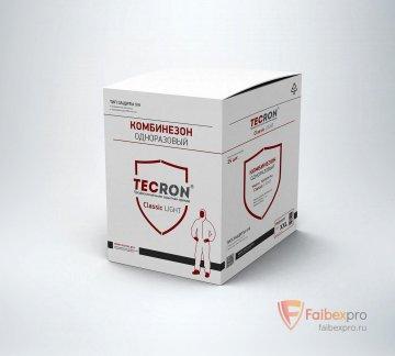 Комбинезон защитный облегченный Tecron Classic light бренда Tecron. Фото №2