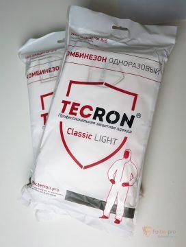 Комбинезон защитный облегченный Tecron Classic light бренда Tecron. Фото №3
