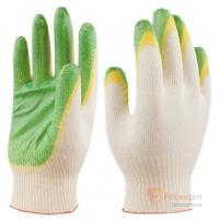 Перчатки х/б двойной латексный облив бренда Без бренда. Фото №1