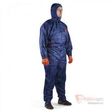 Многоразовый дышащий малярный комбинезон с карманами JPC75b бренда Jeta Safety. Фото №2